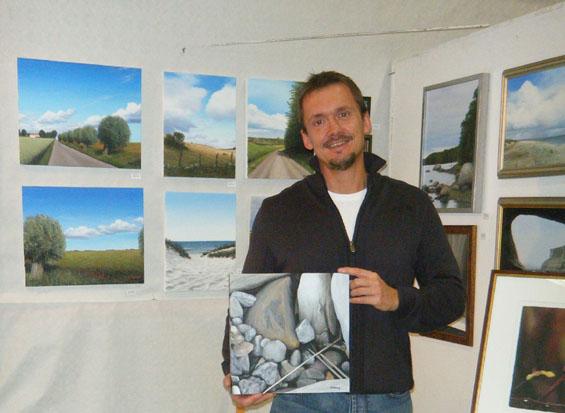 Foto taget vid utställning 2009.