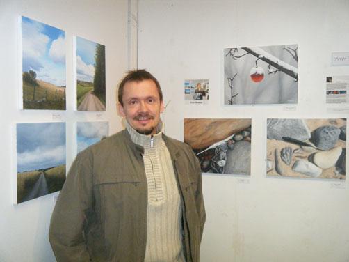 Foto taget vid utställning 2010.