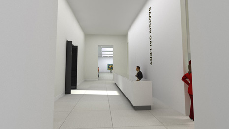 The Saatchi Gallery, London.