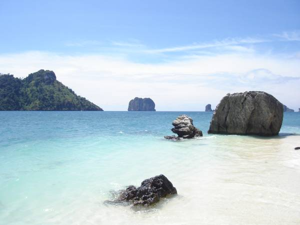 The island Poda outside Ao Nang.